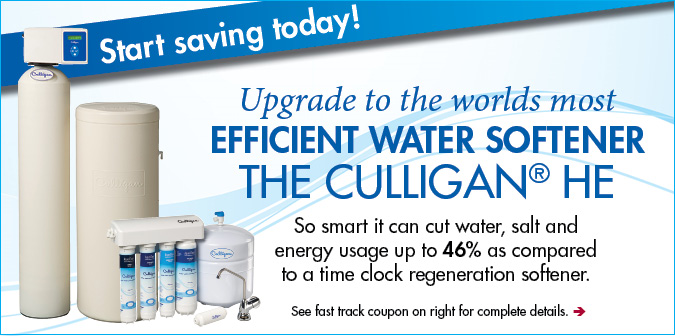 Culligan HE Water Softener Purchase