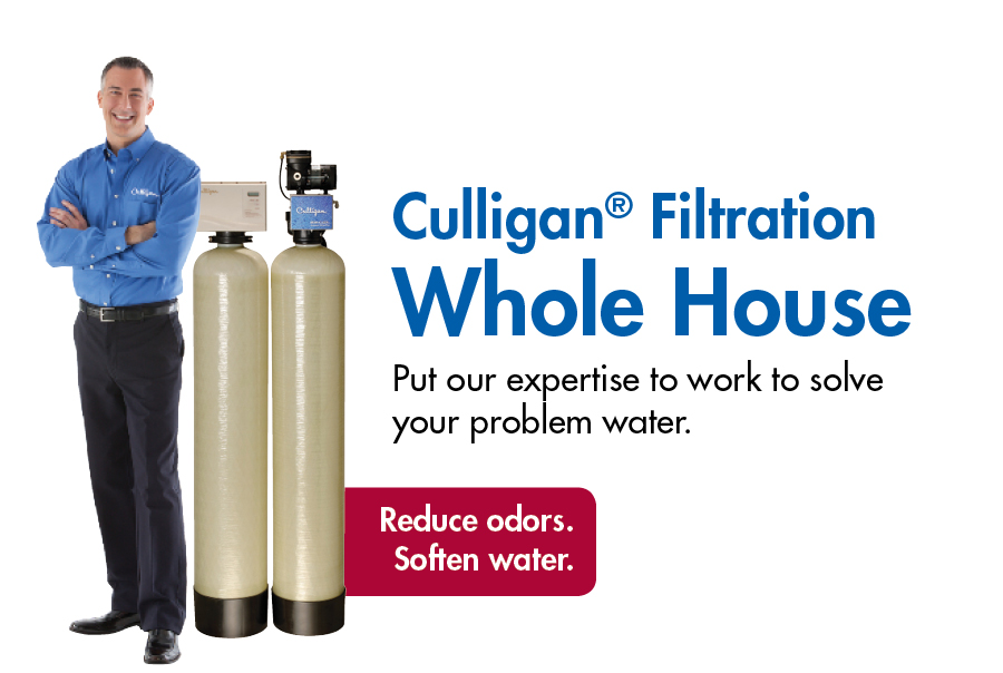 Discover The Difference With Culligan Whole House Water Filters